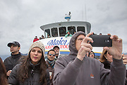 Boat tours take visitors to Kenai Fjords National Park near Seward, Alaska