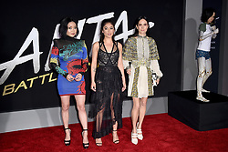 Lana Condor, Rosa Salazar, Jennifer Connelly attend the Premiere Of 20th Century Fox's 'Alita: Battle Angel' at Westwood Regency Theater on February 05, 2019 in Los Angeles, CA, USA. Photo by Lionel Hahn/ABACAPRESS.COM