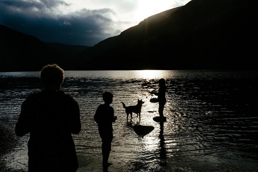 Glendalough Upper Lake, Wicklow Mountains National Park, County Wicklow, Ireland