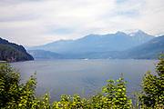 Kootenay Lake taken from town of Kaslo, West Kootenay, British Colmubia, Canada