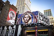 NEW YORK  2020V10<br /> Times Square med reklam för sista säsongen av Homeland.<br /> <br /> Foto: Per Danielsson/Projekt.P