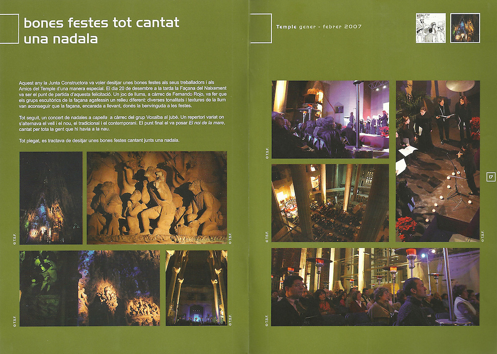Revista Temple (Gen-Feb 2007)_ Junta Constructora del Temple de la Sagrada Familia