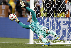Spain goalkeeper David De Gea during the 2018 FIFA World Cup Russia round of 16 match between Spain and Russia at the Luzhniki Stadium on July 01, 2018 in Moscow, Russia