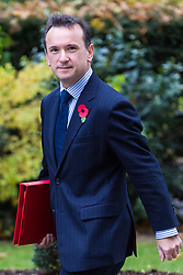 London, October 31 2017. Welsh Secretary Alun Cairns attends the UK cabinet meeting at Downing Street. © Paul Davey