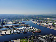 Nederland, Noord-Holland, Amsterdam, 02-09-2020; Westpoort met Westhaven, Hornhaven, Suezhaven, Bosporushaven, Sonthaven.<br /> Western docklands.<br /> luchtfoto (toeslag op standard tarieven);<br /> aerial photo (additional fee required);<br /> copyright foto/photo Siebe Swart