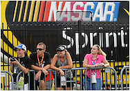 Hampton: NASCAR fans listen to Montgomery Gentry perform before the  start of AdvoCare 500 at the  Atlanta Motor Speedway in Hampton on  Sunday, September 2, 2012. Tony Stewart won the pole with 186.122 miles per hour and will start in first position. ©2008 Johnny Crawford