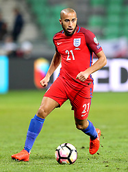 Andros Townsend of England runs with the ball - Mandatory by-line: Robbie Stephenson/JMP - 11/10/2016 - FOOTBALL - RSC Stozice - Ljubljana, England - Slovenia v England - World Cup European Qualifier