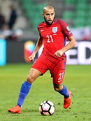 Andros Townsend of England runs with the ball - Mandatory by-line: Robbie Stephenson/JMP - 11/10/2016 - FOOTBALL - RSC Stozice - Ljubljana, England - Slovenia v England - World Cup European Qualifier