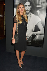 SABRINA PERCY at an evenig of Jewellery & Photography to launch the Buccellati 'Opera Collection' held at Spencer House, London on 21st October 2015.