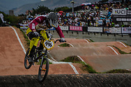#996 (KRIGERS Kristens) LAT at the 2016 UCI BMX World Championships in Medellin, Colombia.