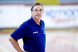 Head coach Miro Pozun at practice of Slovenian Handball Men National Team, on June 4, 2009, in Arena Kodeljevo, Ljubljana, Slovenia. (Photo by Vid Ponikvar / Sportida)