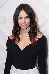 Abigail Spencer at the 2019 Hulu Upfront in New York City.