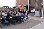 The Orange County Law Enforcement Officer Memorial Service was held in front of the county courthouse on May 2, 2014. The memorial service honors the memory of the 27 members of the Orange County law enforcement community that died in the line of duty. The service also pays tribute the families and loved ones left behind for their courage, dignity and perseverance.