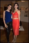 EMMA MILLER; DOINA CIOBANU, Sotheby's Frieze week party. New Bond St. London. 15 October 2014.