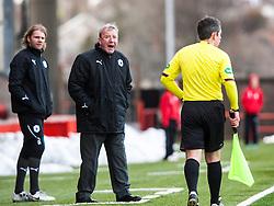 Alex Smith, Falkirk interim manager..Airdrie United 0 v 1 Falkirk, 30/3/2013..©Michael Schofield..
