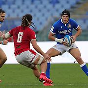 Roma 13/03/2021, Stadio Olimpico<br /> Guinness Six Nations 2021<br /> Italia vs Galles<br /> <br /> Ignacio Brex