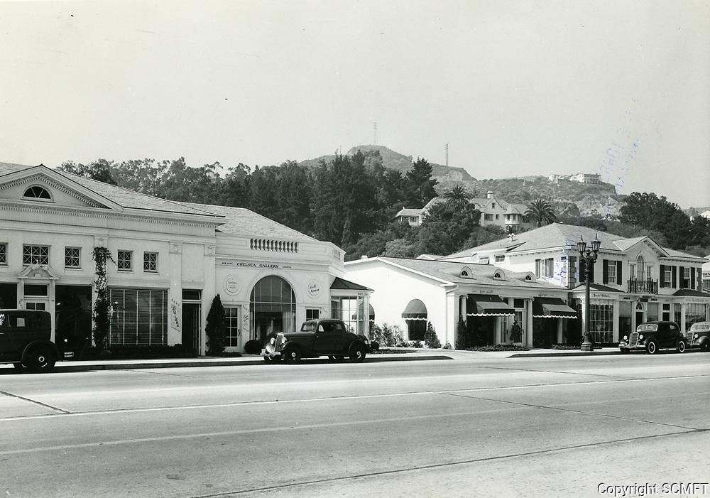 1936 Sunset Blvd. near Sunset Plaza Dr.