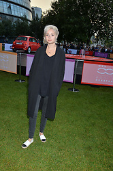 NINA NESBITT at the launch of the new remastered Fiat 500 featuring an exclusive performance by Ella Eyre held in Potters Field Park, Southwark, London SE1 on 2nd September 2015.