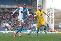 Blackburn Rovers Dominic Samuel in action with Swansea City's Matt Grimes<br /> <br /> Photographer Mick Walker/CameraSport<br /> <br /> The EFL Sky Bet Championship - Blackburn Rovers v Swansea City - Saturday 29th February 2020 - Ewood Park - Blackburn<br /> <br /> World Copyright © 2020 CameraSport. All rights reserved. 43 Linden Ave. Countesthorpe. Leicester. England. LE8 5PG - Tel: +44 (0) 116 277 4147 - admin@camerasport.com - www.camerasport.com