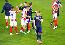 Scotland's Scott McTominay reacts after the final whistle during the UEFA Euro 2020 Group D match at Hampden Park, Glasgow. Picture date: Tuesday June 22, 2021.