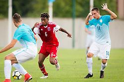 Football match between Slovenia U21 and Luxemburg U21 in Qualifications for European Championship 2019 , on September 1, 2017 in Stadion Ajdovscina, Ajdovscina. Photo by Ziga Zupan / Sportida