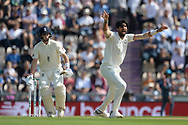 Ishant Sharma of India appealing for the wicket of Joe Root of England during the first day of the 4th SpecSavers International Test Match 2018 match between England and India at the Ageas Bowl, Southampton, United Kingdom on 30 August 2018.