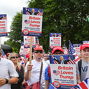 Welcoming Trump to London Rally - Make Britain Great Again