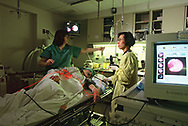 Bethesda, MD 1998/03/01 Photodynamic Laser light therapy in te fight agains cancer  <br /><br />Photograph by Dennis Brack