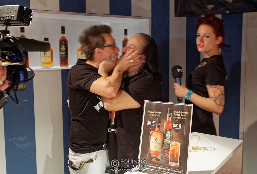 Berlin, Germany - 18 October 2012<br /> Porn star Ron Jeremy promoting his 'Ron Jeremy' brand of rum at the Venus Berlin 2012 adult industry exhibition in Berlin, Germany. Ron Jeremy, born Ronald Jeremy Hyatt, has been an American pornographic actor since 1979. He faces sexual assault allegations which he strenuously denies. There is no suggestion that any of the people in these pictures have made any such allegations.<br /> www.newspics.com/#!/contact<br /> (photo by: EQUINOXFEATURES.COM)<br /> Picture Data:<br /> Photographer: Equinox Features<br /> Copyright: ©2012 Equinox Licensing Ltd. +448700 780000<br /> Contact: Equinox Features<br /> Date Taken: 20121018<br /> Time Taken: 12374059