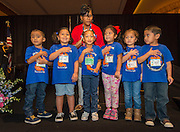 Students from Farias ECC recite the Pledges during the Keep Houston Beautiful Mayor's Proud Partner Awards luncheon at the Hilton Americas, November 7, 2016.