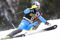 DEVILLE Cristian of Italy during the 1st Run of Men's Slalom - Pokal Vitranc 2013 of FIS Alpine Ski World Cup 2012/2013, on March 10, 2013 in Vitranc, Kranjska Gora, Slovenia.  (Photo By Vid Ponikvar / Sportida.com)