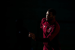 LIVERPOOL, ENGLAND - Monday, February 18, 2019: Liverpool's Georginio Wijnaldum during a training session at Melwood ahead of the UEFA Champions League Round of 16 1st Leg match between Liverpool FC and FC Bayern München. (Pic by Paul Greenwood/Propaganda)