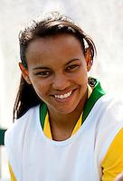 Fifa Womans World Cup Canada 2015 - Preview //<br /> Algarve Cup 2015 Tournament ( Municipal Stadium - Albufeira , Portugal ) - <br /> Brazil vs China 0-0 -  Raquel Fernandez of Brazil