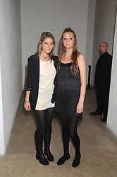 Left to right, VIOLET VON WESTENHOLZ and LADY BELLA SOMERSET at the Quintessentailly Summer Party at the Phillips de Pury Gallery, 9 Howick Place, London on 9th July 2008.<br /><br />NON EXCLUSIVE - WORLD RIGHTS