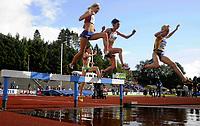 Friidrett<br /> 20. Juni 2009<br /> European Team Championships 1. st Leauge<br /> Fana Stadion<br /> 3000 m hinder<br /> Karoline Bjerkel Grovdal , Norge<br /> Foto : Astrid M. Nordhaug