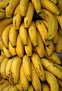 Bananas in a market in Amman, Jordan.