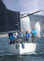 Pelle P Kip Regatta 2019 Day 1<br /> <br /> Light and bright conditions for the opening racing on the Clyde keelboat season<br /> GBR9470R, Banshee, Charlie Frize, CCC, Corby 33.