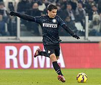 De Carvalho Hernanes Inter,<br /> Torino 06-01-2015, Juventus Stadium, Football Calcio 2014/2015 Serie A, Juventus - Inter, Foto Filippo Alfero/Insidefoto