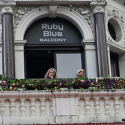 Ruby Blue balcony at Leicester Square, London, UK 23 September 2018.