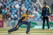 Michael Richardson (Durham CCC) during the Royal London 1 Day Cup match between Yorkshire County Cricket Club and Durham County Cricket Club at Headingley Stadium, Headingley, United Kingdom on 3 May 2017. Photo by Mark P Doherty.