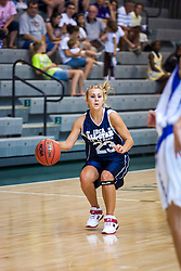 21 June 2008: Emily McLain #23.  IBCA ( Illinois Coaches Basketball Association) Girls Class 1 & 2 All Star Game held at the Shirk Center on the Campus of Illinois Wesleyan University in Bloomington Illinois