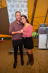 Scot Carter and KellyWilliams, they got engaged on stage last year. Party at the Palace 2019.