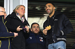 Bournemouth's Callum Wilson in the stands during the Emirates FA Cup, third round match at the Vitality Stadium, Bournemouth.
