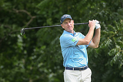 May 24, 2019 - Fort Worth, TX, U.S. - FORT WORTH, TX - MAY 24: Jim Furyk hits from the 6th tee during the second round of the Charles Schwab Challenge on May 24, 2019 at Colonial Country Club in Fort Worth, TX. (Photo by George Walker/Icon Sportswire) (Credit Image: © George Walker/Icon SMI via ZUMA Press)