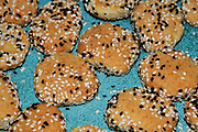 A plate of homemade Sesame seed biscuits