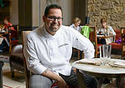 Christian Bustamante is the executive chef at the new Hotel Jackson.