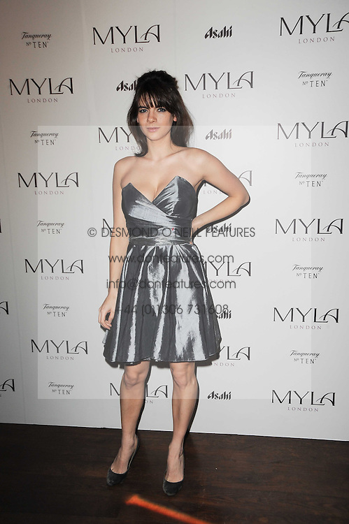 MARTHA FREUD at a party to celebrate the 10th anniversary of the Myla lingerie brand held at Almada, 17 Berkeley Street, London on 17th November 2010.