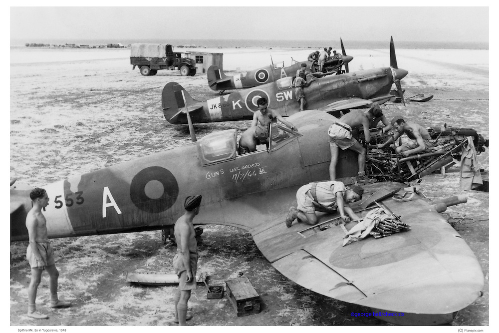 Spitfires Mk5 in Yugoslavia, WWII