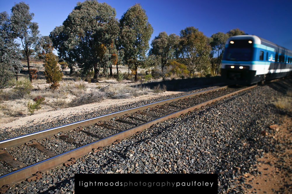 Countrylink Train near Bathurst, NSW, Australia