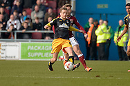 Cambridge United Midfielder Luke Berry during the Sky Bet League 2 match between Northampton Town and Cambridge United at Sixfields Stadium, Northampton, England on 12 March 2016. Photo by Dennis Goodwin.